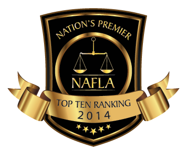 National Academy of Family Law Attorneys Top 10 Family Law Attorney Under 40 in Virginia